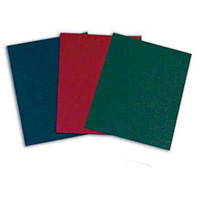 Low Minimum Colored Linen Folders - No Imprint