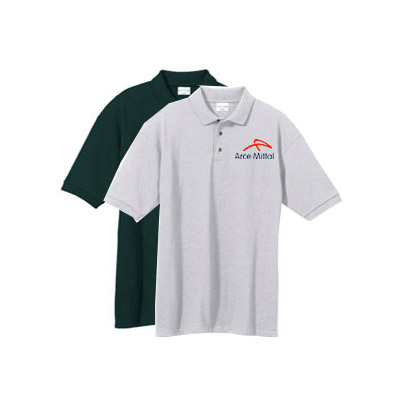ANVIL Cotton Deluxe Pique Polo Shirts,  Embroidered