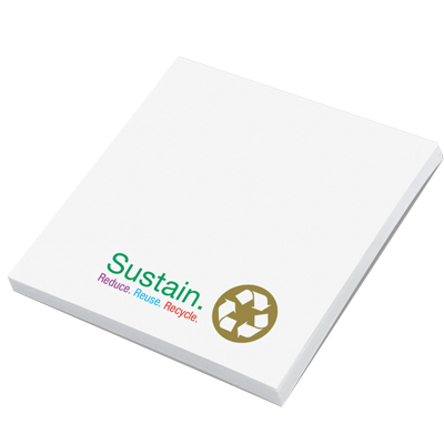 "2.75"" x 3"" Recycled Post-it Notes"