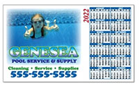 "Calendar Magnets, Full Color 5-5/8"" x 3-1/2"""