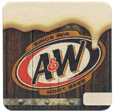 "4"" Square Heavy Weight 110 pt. Pulpboard Coasters"