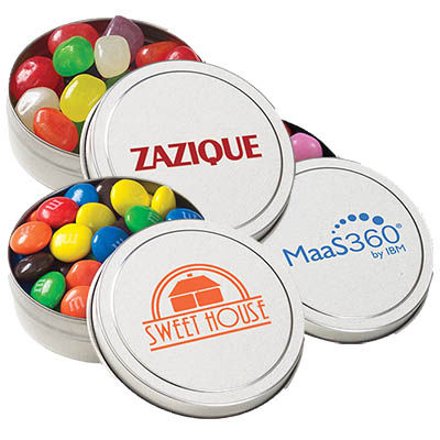 Small Candy Tins, Gourmet Fills