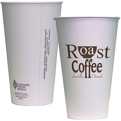 16 oz. Double Wall Insulated Paper Cups