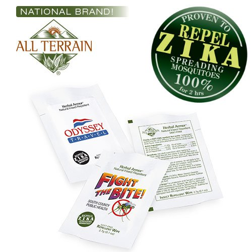 All TerrainHerbal Armor Insect Repellent Wipes