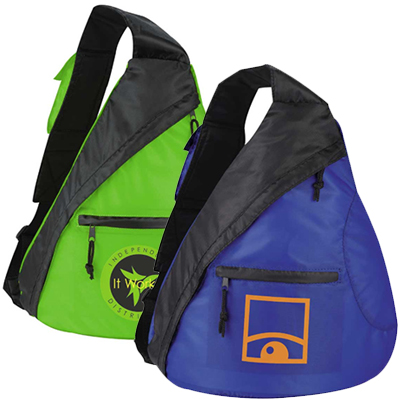 Downtown Polyester Sling Backpacks