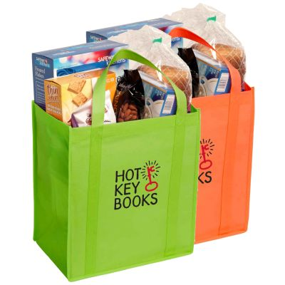 13 x 12 Nonwoven Grocery Totes