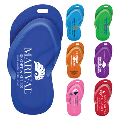 Sandal Recycled Luggage Tags