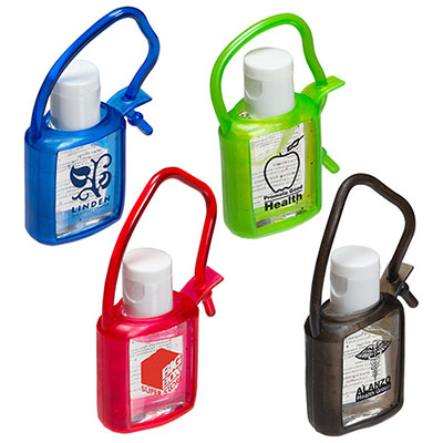 Cool Clip Hand Sanitizers