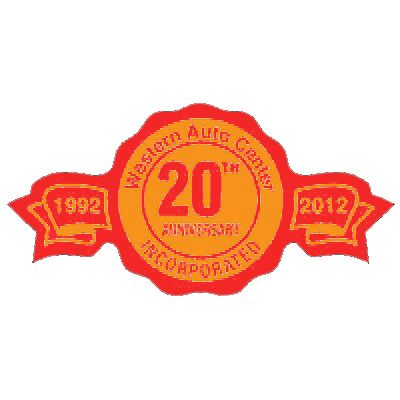 "1-1/4"" x 2-1/2"" Anniversary Ribbon Roll Labels"