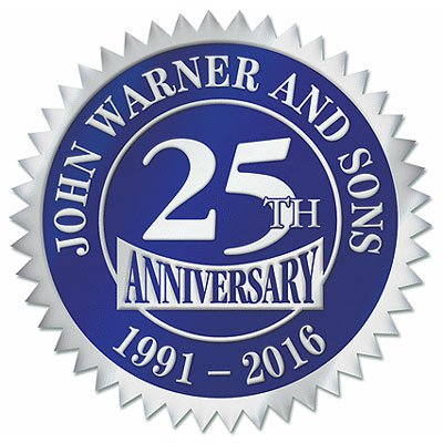 "2"" Seal Embossed Anniversary Roll Labels"