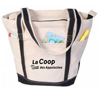 20 x 15 Biodegradable Cotton Boat Totes