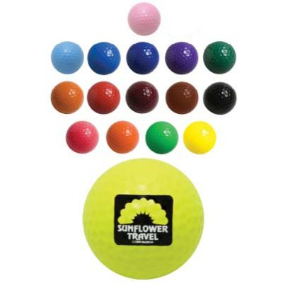 Colored Golf Balls