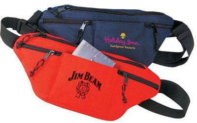 Fanny Packs with 4 Zipper Pockets