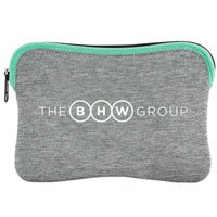 Heathered Jersey Knit-Neoprene iPad Sleeves