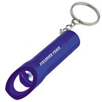 3 LED Flashlight Key Chain with Bottle Opener
