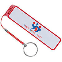 2200 mAh Portable Chargers with Keyring