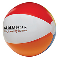 Multi-Colored Beach Balls 16""