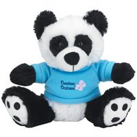"6"" Plush Big Paw Pandas"