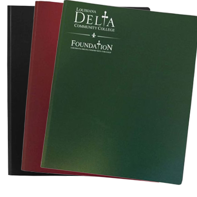 Confidential Plastic Professional Presentation Folders - HIPAA Compliant