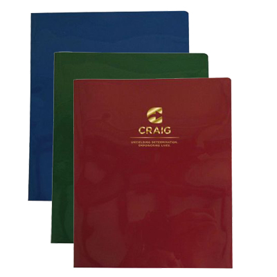 Confidential Twin Pocket Presentation Folders - HIPAA Compliant