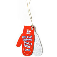 Two-Part Mitten Ornament with Seed Paper