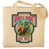 15 x 14.5 Full Color Classic Cotton Canvas Meeting Totes