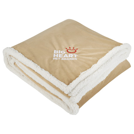 Field & Co. Cambridge Oversized Sherpa Blanket