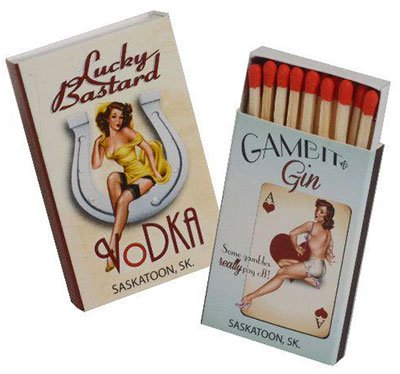 18-Strike Matchboxes