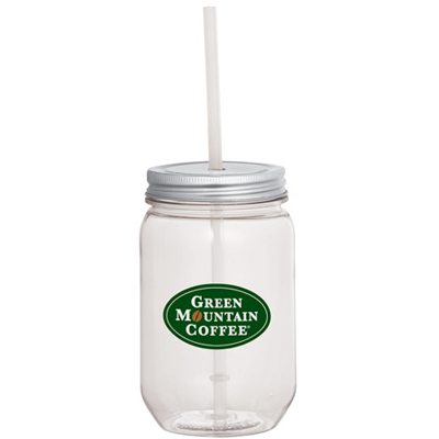 22 oz. Mason Jar with Tin Lid