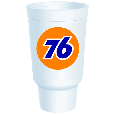 32 oz. Styrofoam Traveler Cups