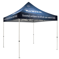 10' Square Event Tent, Full Coverage Printing