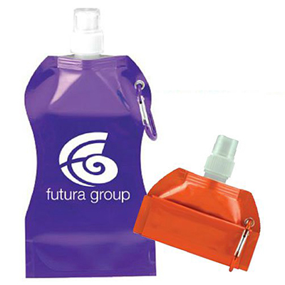 16.9 oz. Wave Collapsible Water Bottles