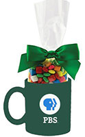 Ceramic Mug Filled with Candy Gift Set