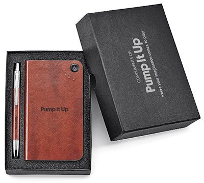 Fabrizio Stylus Pen and Power Bank Gift Set