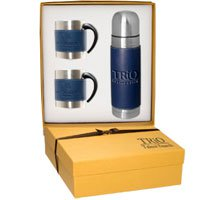 Tuscany Thermos and Coffee Cups Gift Sets