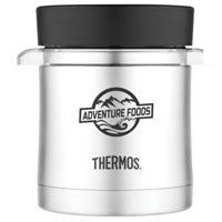 12 oz. Thermos Food Jar with Microwavable Container