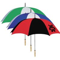 "Golf Umbrellas w/ Wood Handle - 60"" Arc"