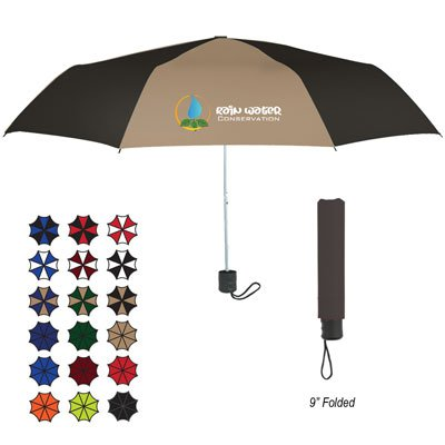 "Budget Telescopic Umbrellas - 42"" Arc"