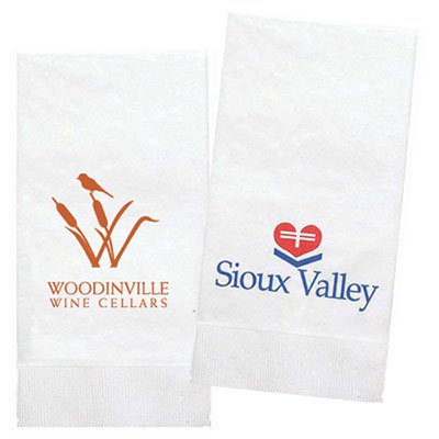 1-Ply White Dinner Napkins