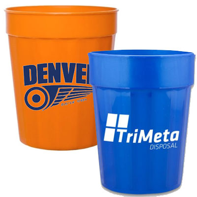 16 oz. Short Fluted Stadium Cups