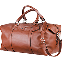 Cutter & Buck Leather Weekender Duffel Bags