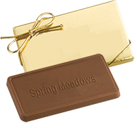 Custom Molded Chocolate in Gift Box