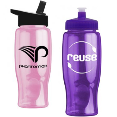 27 oz. Poly-Pure Travel Bottles