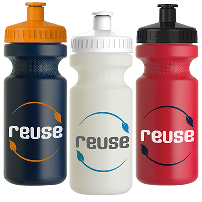 22 oz. Eco-Cyclist Recycled Bike Bottles