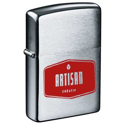 Zippo Brushed Chrome Lighters