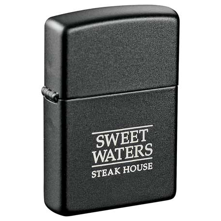 Zippo Black Matte Lighters