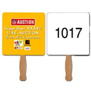 Auction Hand Fans, Consecutive Numbering