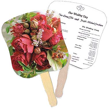 Flower Bouquet Stock Design Wedding Hand Fans