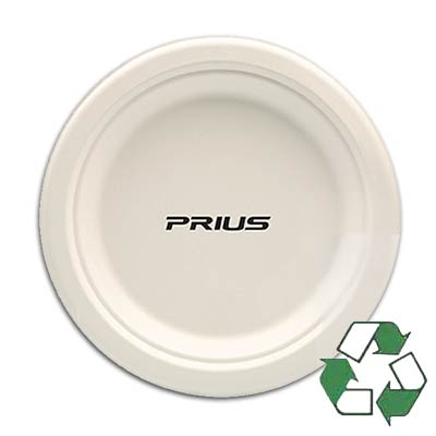 "9"" High Quantity Heavy Duty Biodegradable Paper Plates"
