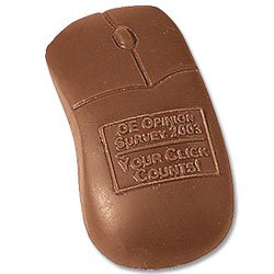 1 oz. Computer Mouse Chocolates, Kosher